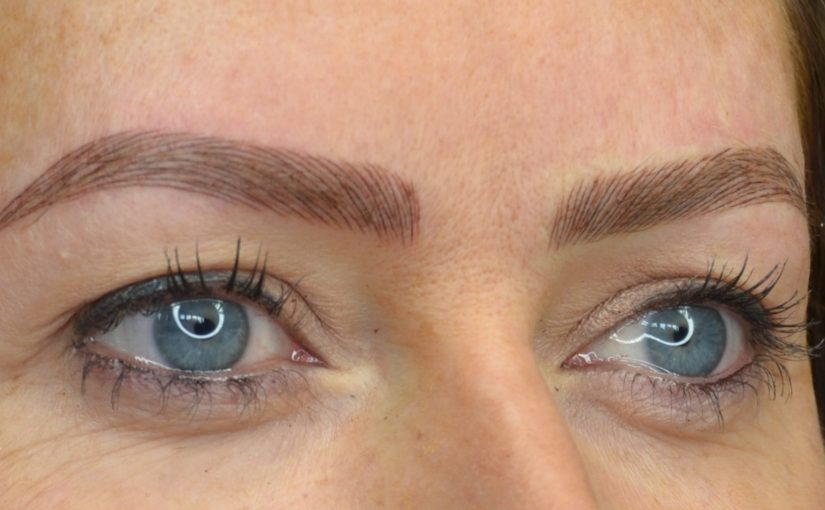 Microblading and emBrowdery
